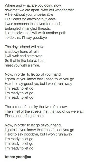#Let Go Lyrics 😭😭😭 #FaceYourself♡♡♡ | Life without you, So ...