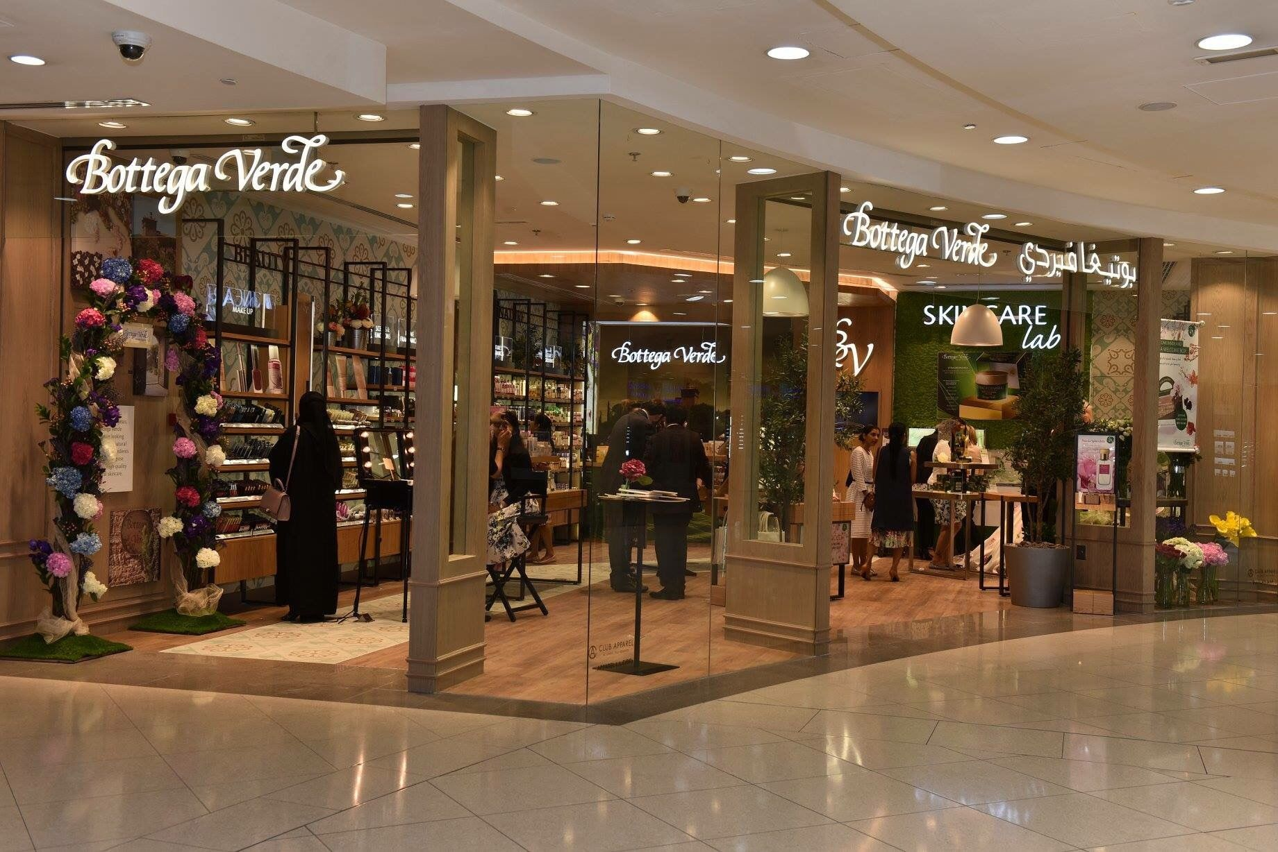 Bottega Verde opened flagship boutique in Dubai.