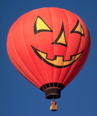Pumpkin Hotair Balloon