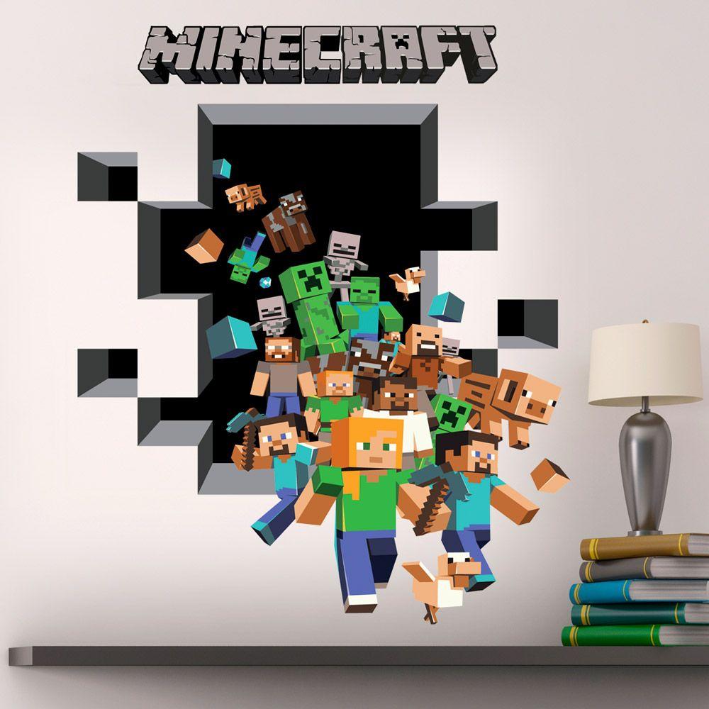 Minecraft bedroom decals 28 images minecraft bedroom for Minecraft kids room