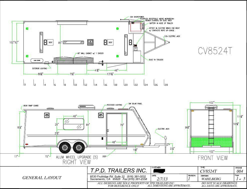 FS 2013 TPD Vortech enclosed car trailer 24\u0027 - Rennlist Discussion