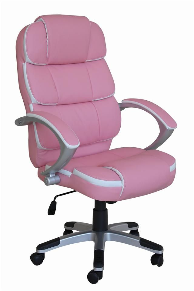 hot pink office chair portable umbrella set new luxury swivel executive computer k8363 in 2019 ebay