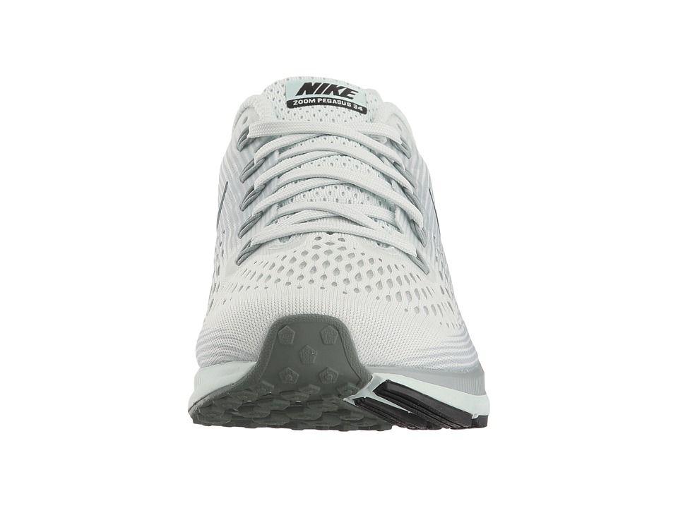 a2eccee9c6b Nike Air Zoom Pegasus 34 Women s Running Shoes Barely Grey Deep  Jungle Light Pumice