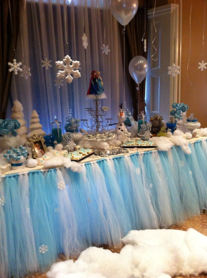 Frozen Party Candy Table Frozen Candy Table Frozen Party Candy Party