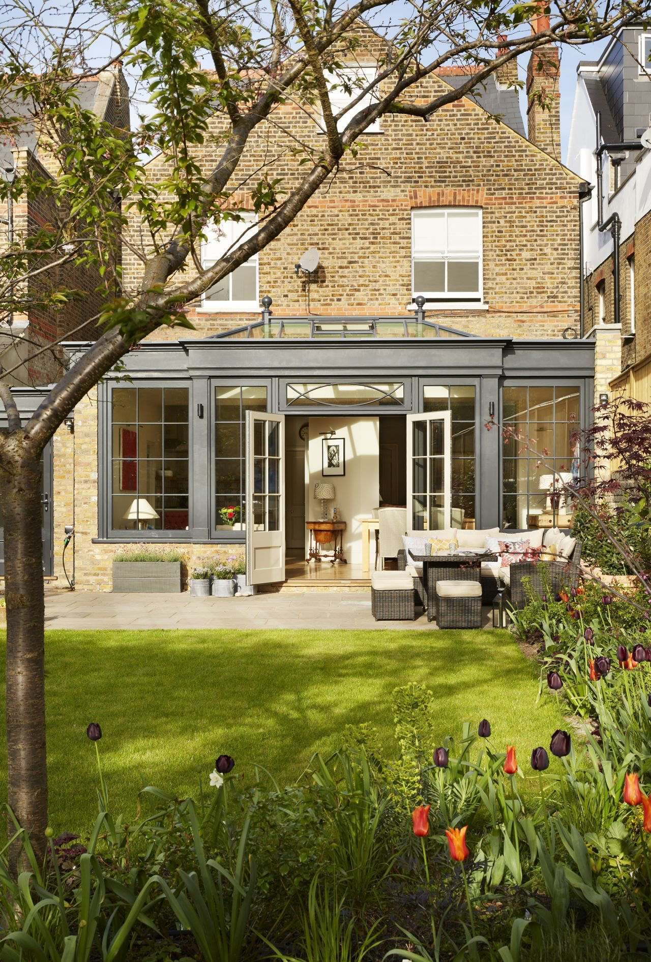 Conservatory Room Addition In The Uk 1040x1485 In 2020: Garden Room Extensions, Room Extensions, Kitchen Orangery