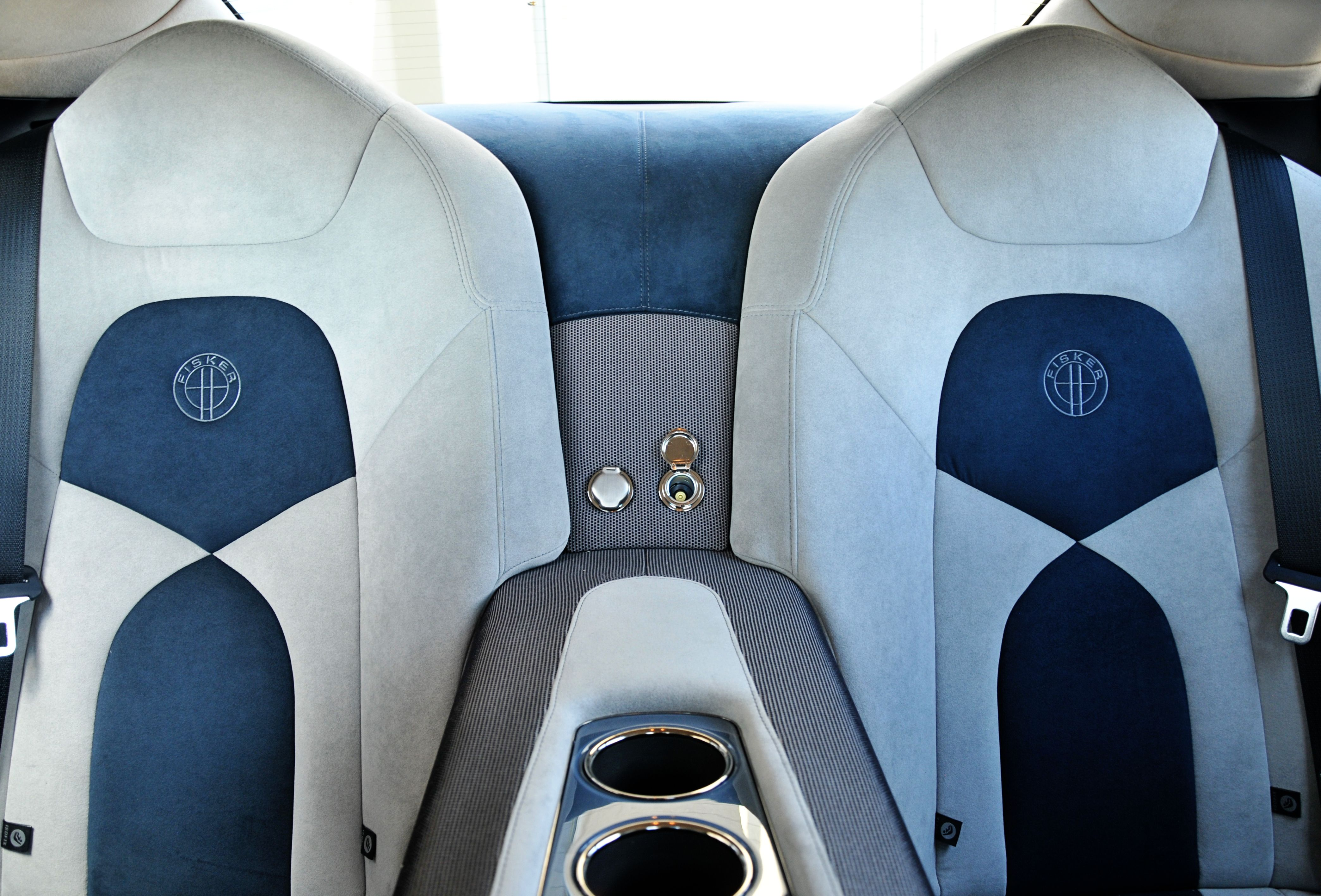 Interior Of The Fisker Karma At Fisker Sacramento Valley