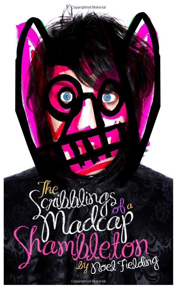The Scribblings of a Madcap Shambleton by Noel Fielding - top on my list of things to buy