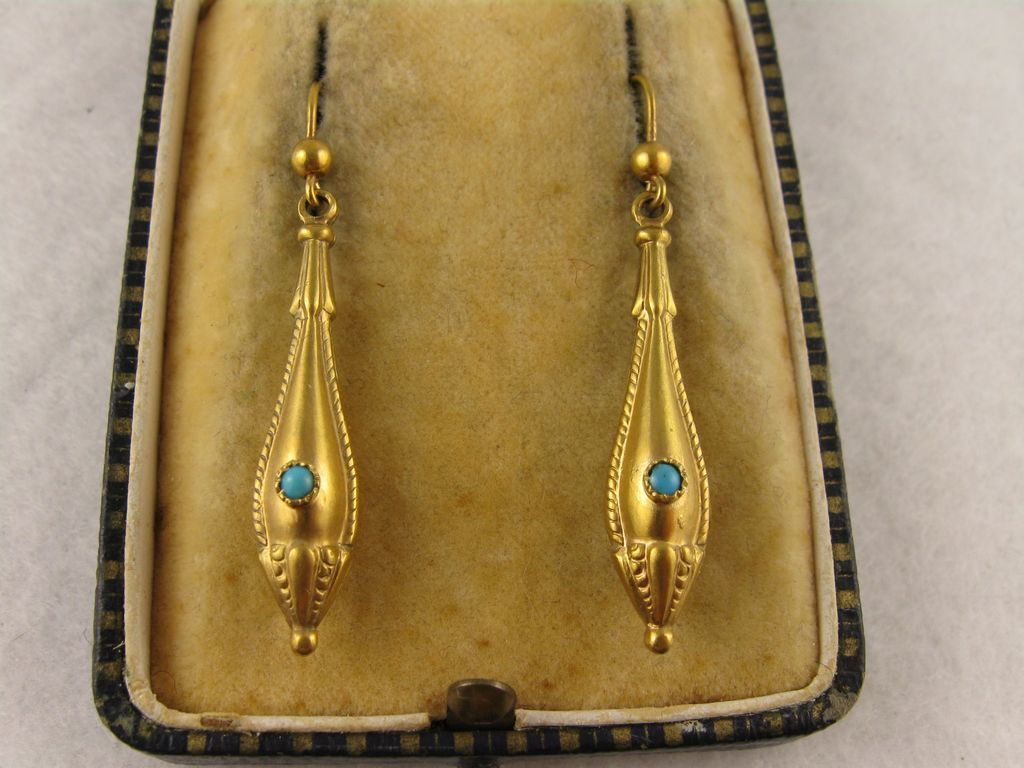 dsc victorian garden gold yellow antique jewelers products rose earrings