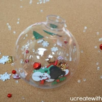 I Spy Christmas Ornament DIY {Holiday Kids Craft}~ I love this ...