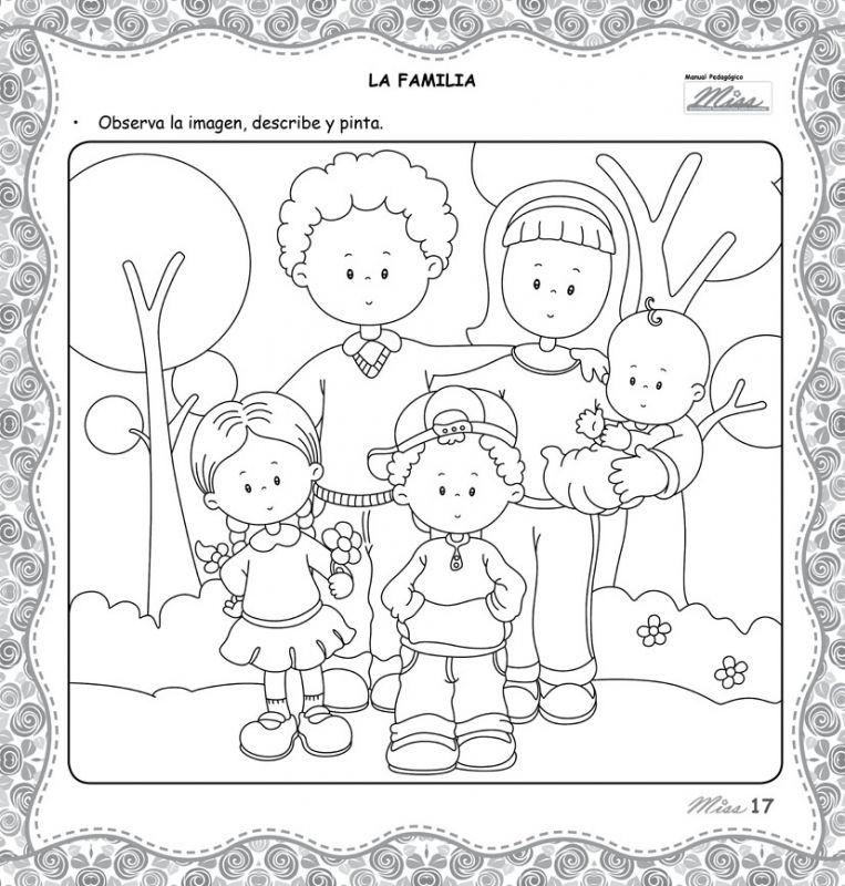 Retonitos Revista Para Educadores Y Padres Actividades De La Familia Dibujos Para Preescolar Hojas De Trabajo Preescolar