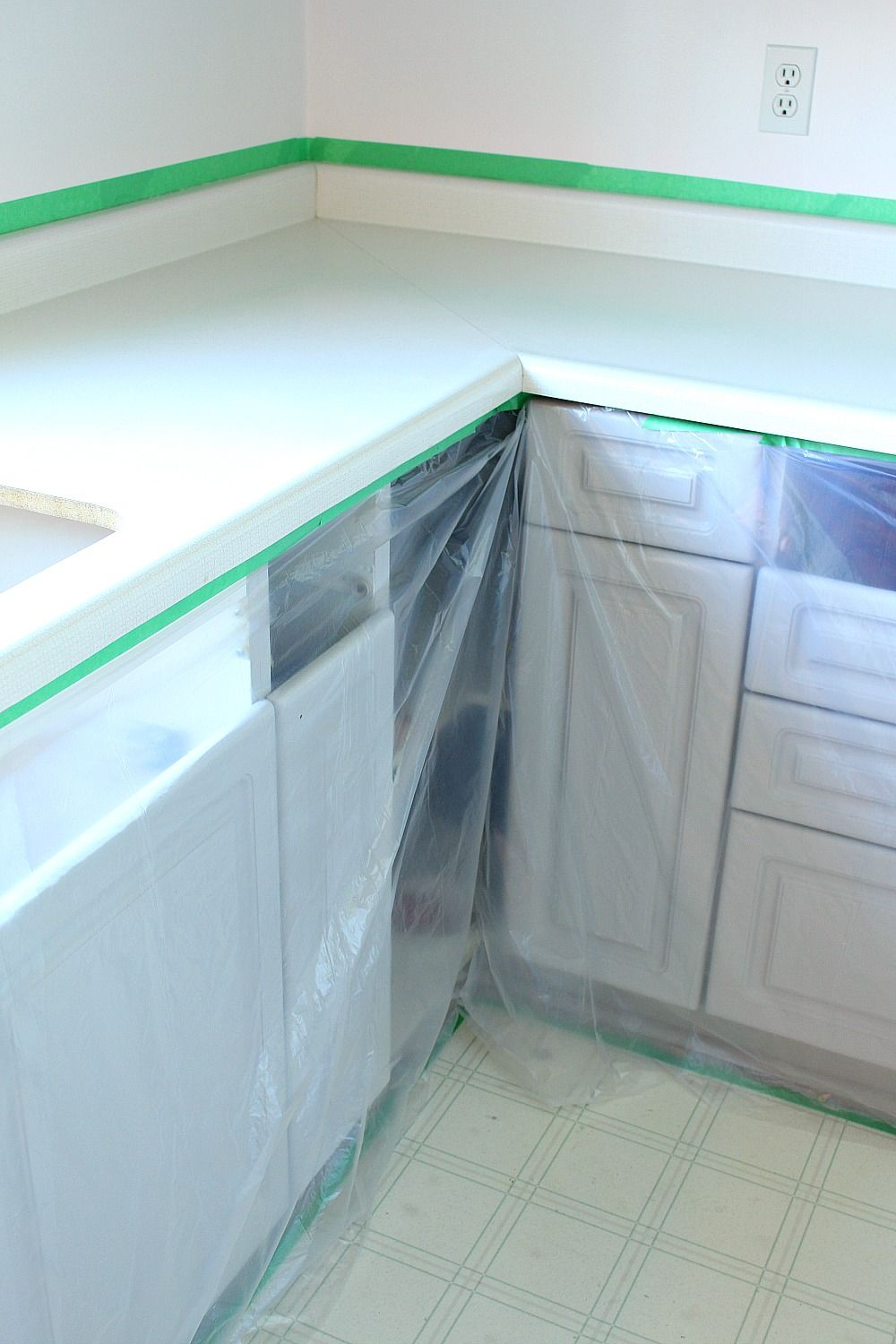How To Repair And Refinish Laminate Counters Laminate Counter