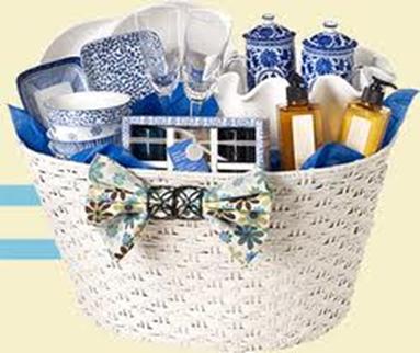 Fine China Wedding Gift Basket Wedding And Shower Gifts