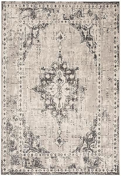 Rugs Revive Medallion Pale Grey