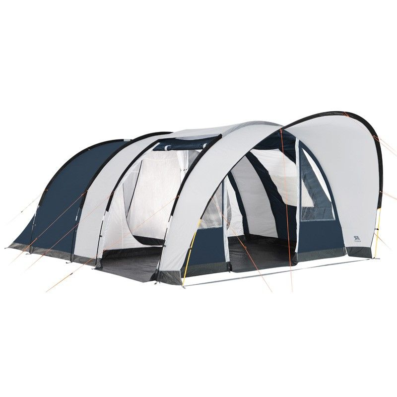 tente de camping raclet medina 5 places tente tunnel. Black Bedroom Furniture Sets. Home Design Ideas