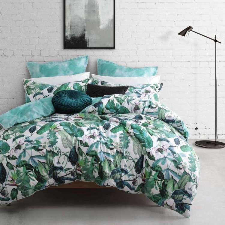 Logan Mason Oasis Fern In 2020 Quilt Cover Sets Quilt Cover Duvet Cover Sets