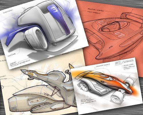 Transportation sketching