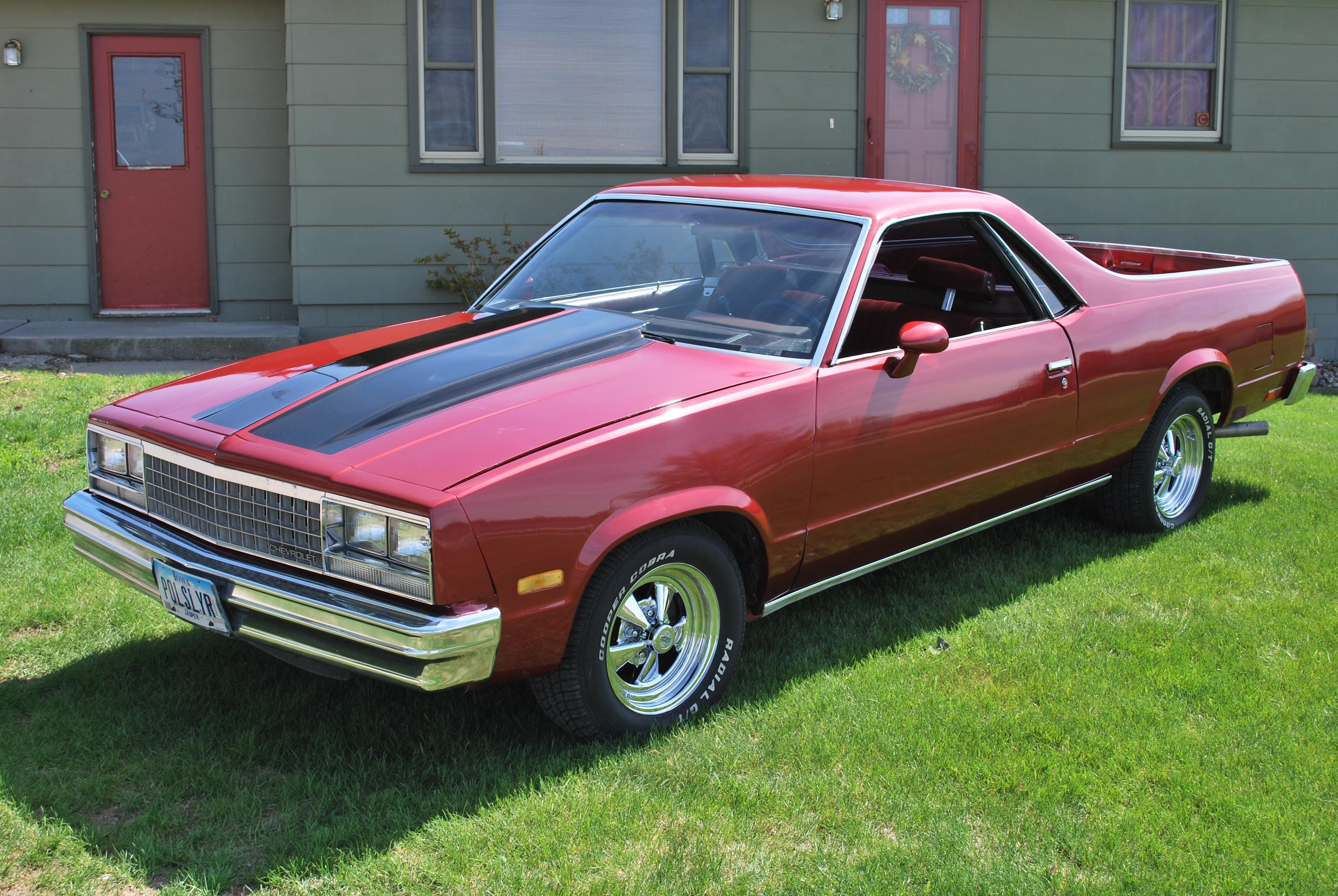 1983 El Camino 02shadowcougar S 1983 Chevrolet El Camino