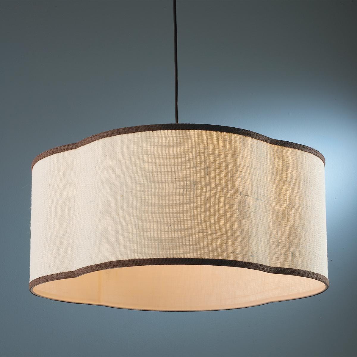 24 Quot Quatrefoil Shade Pendant Hanging Lamp Shade Large