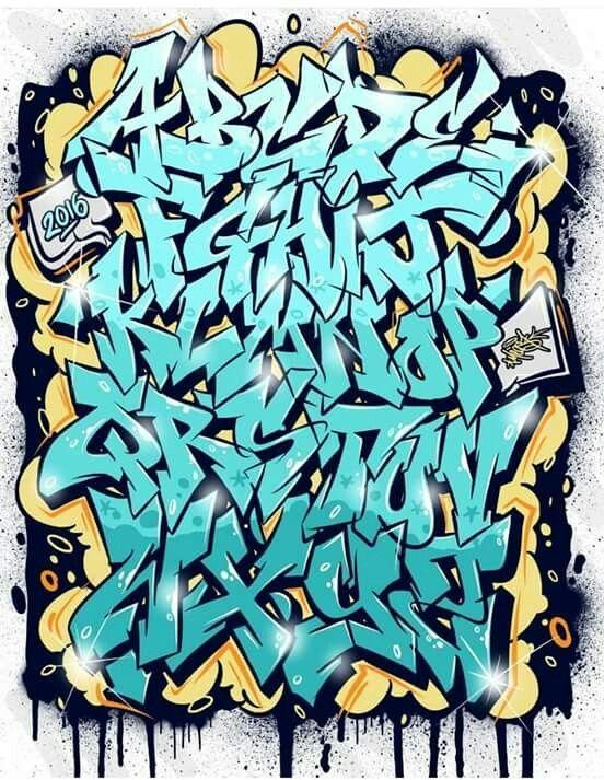 Pin De Adrian Contreras En Design Graffiti Alphabet Graffiti