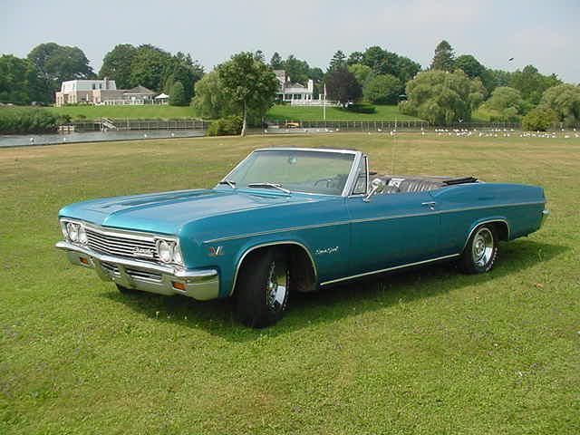 A 1966 Chevy Impala Convertible In A Great Blue Green Color Does It Get Any Better 1966 Chevy Impala Chevy Impala Impala