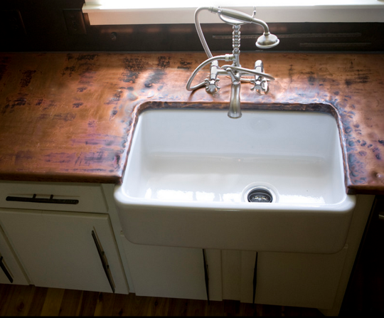 Copper Countertops: Would You Do It?
