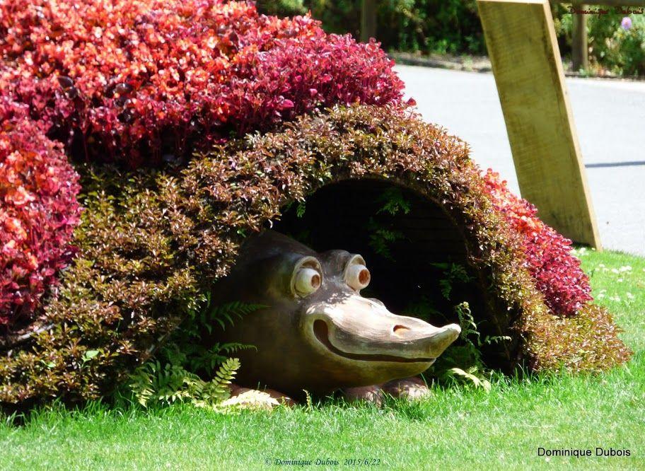 le sous fleur du jardin des plantes de Nantes- Claude Ponti ...