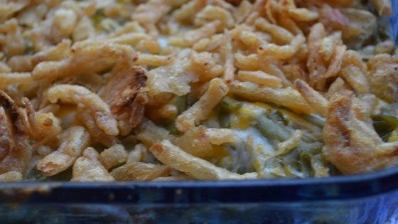 Amy's Cheesy Green Bean Casserole (not quite so much dried garlic seasoning needed, IMO).