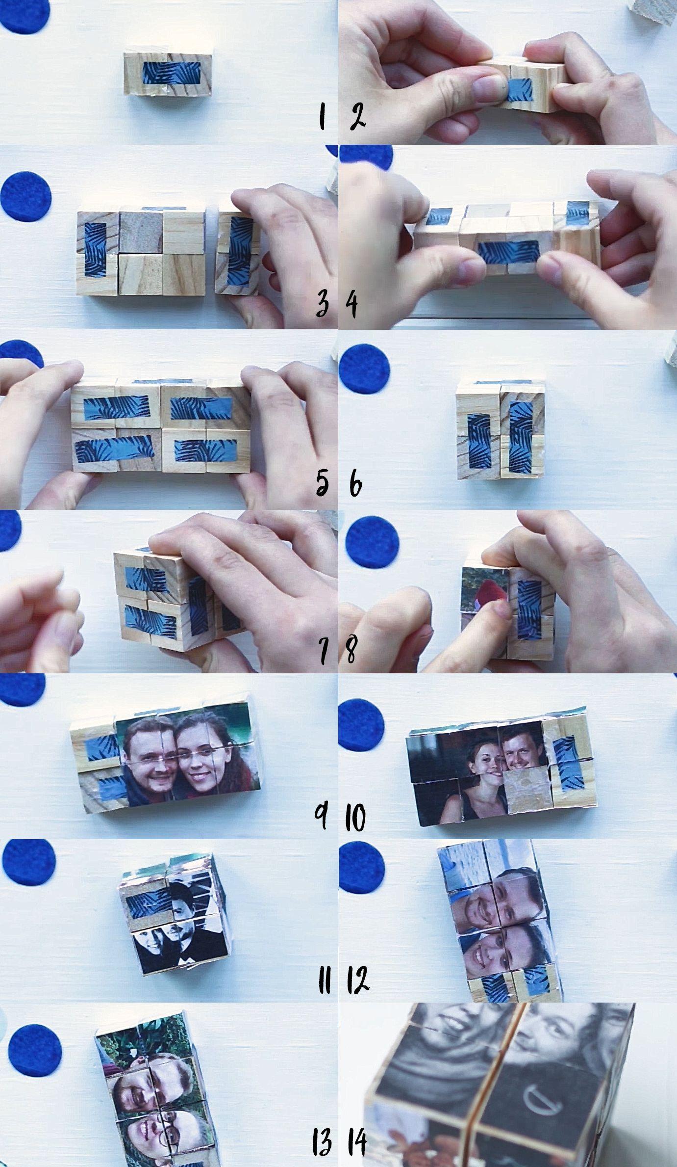 DIY Foto-Würfel – ein persönliches Geschenk für besondere Menschen #persönlichegeschenke