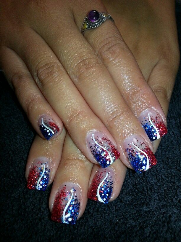 patriotic nails in 2019