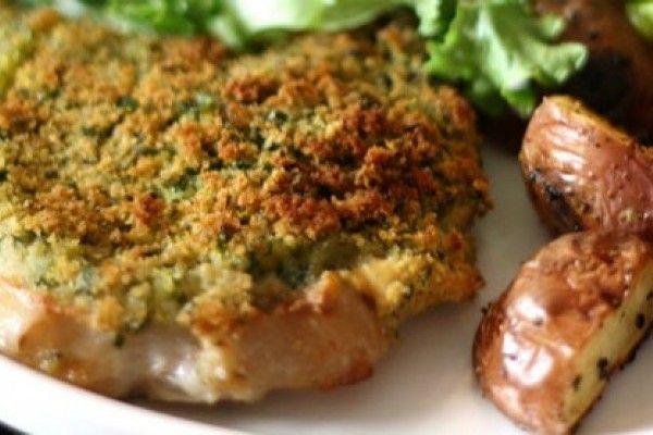 Receta: Chuletas de cerdo con cebollas balsámicas
