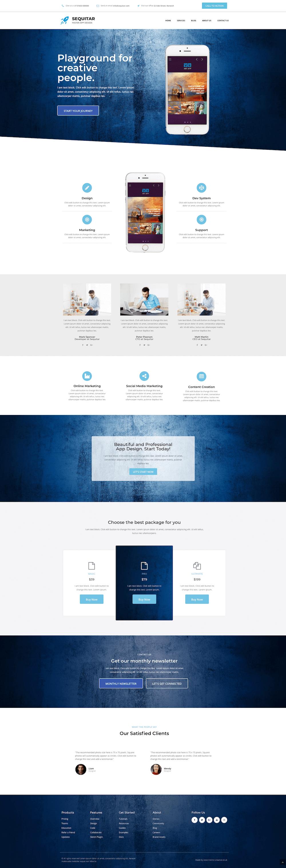 Website Design Template For A City Breaks Business Landing Page Web Design City Design Web Design Inspiration