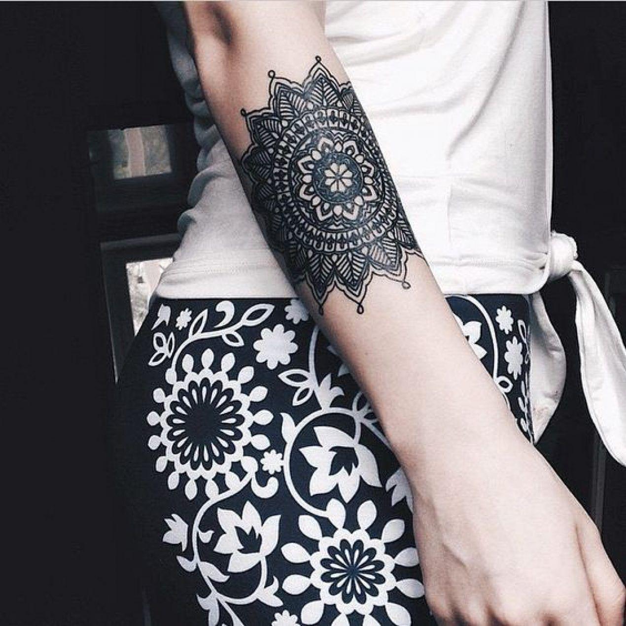 Tatuajes Mandalas Ideas De Diseños Místicos Y Significado Tatu
