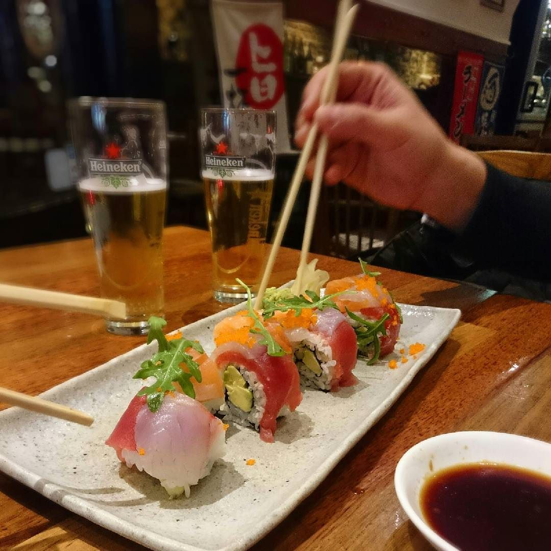 Saturday sushi night!  #kagetsu #japanese #sushi #food #japanesefood #japan #maki #delicious #sushitime #instagood #sushibar #cityguysnl