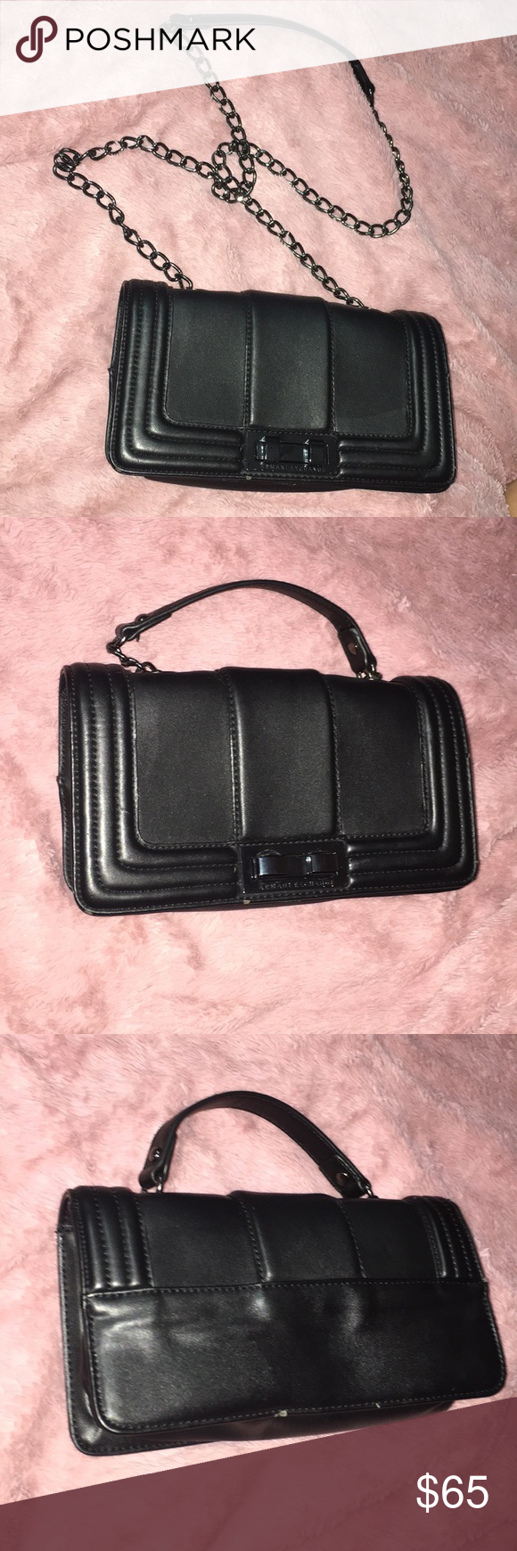 Armani Exchange Purse!!! (used twice) Color  Black Size  9in Turn ... fe94d818a0306