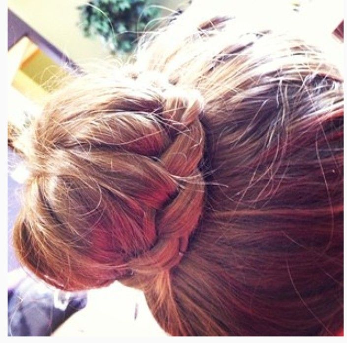 Instagram Insta-glam: Braided Buns #braidedbuns