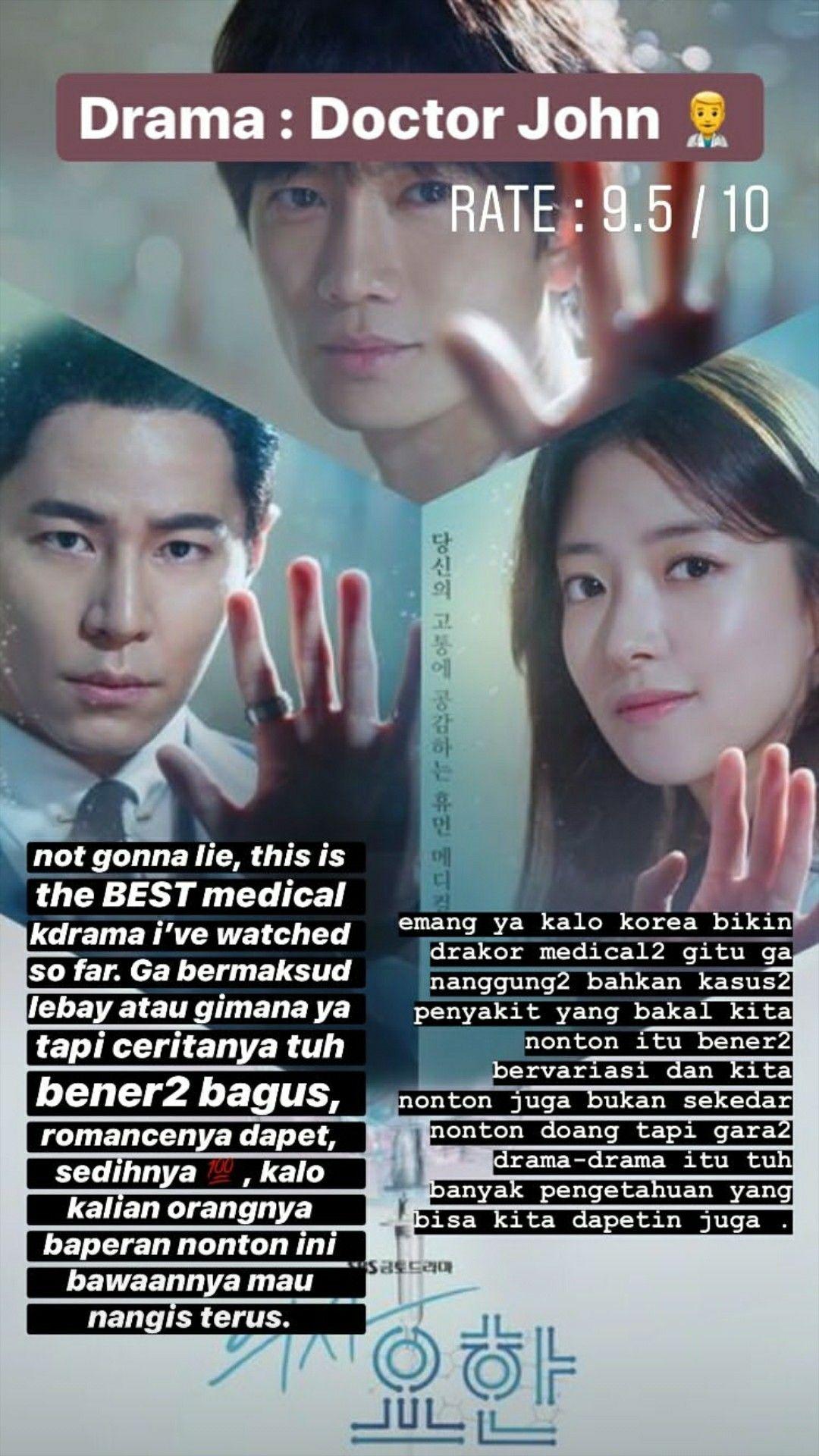 Doctor John Drakor Drama Korea Rekomendasi di 2020