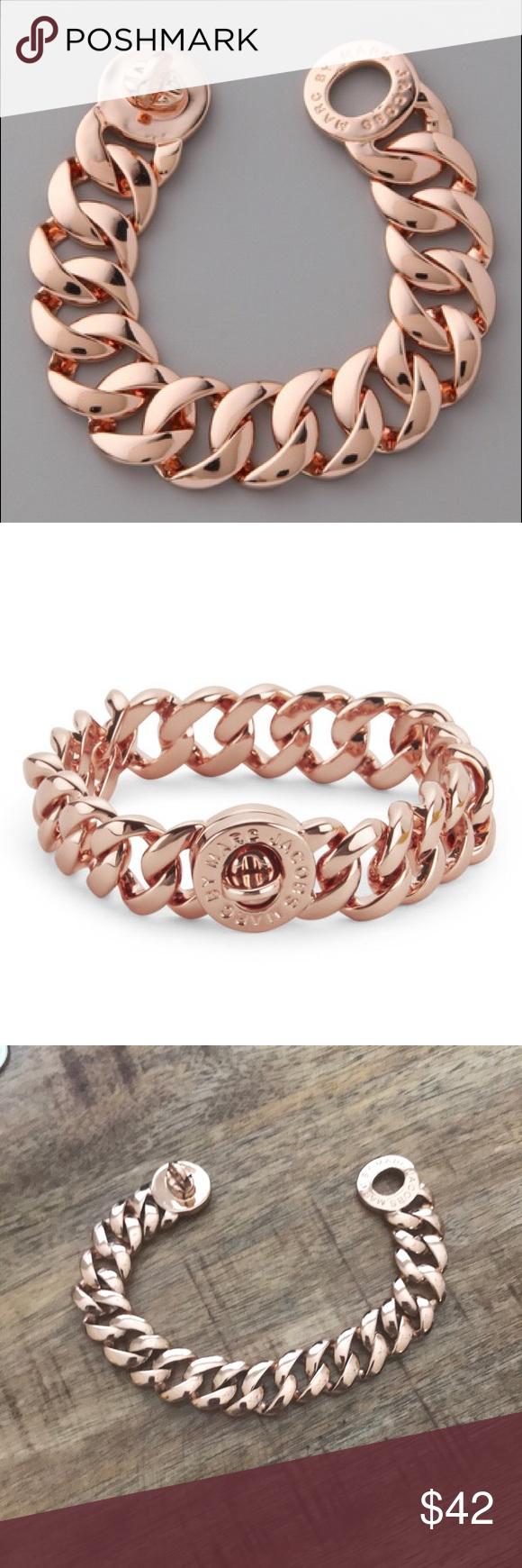 Marc jacobs euc rose gold bracelet