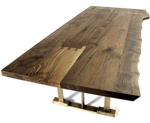 Wohnzimmer holztisch ~ Rustikaler wohnzimmer tisch dunkle farbe wood