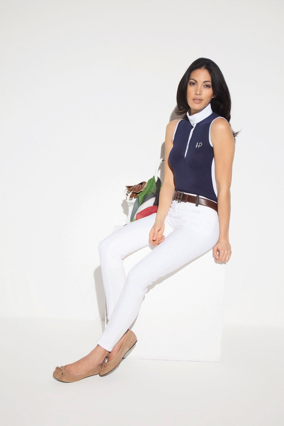 Horseware Platinum Competition collection: Biella competition polo/ Siena breeches /