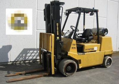 Hyster Service Manual: FREE HYSTER D004 (S100XL) FORKLIFT