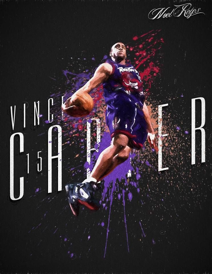 best service 38e76 08689 Vince Carter in sick Raptors throwback | NBA | Nba players ...