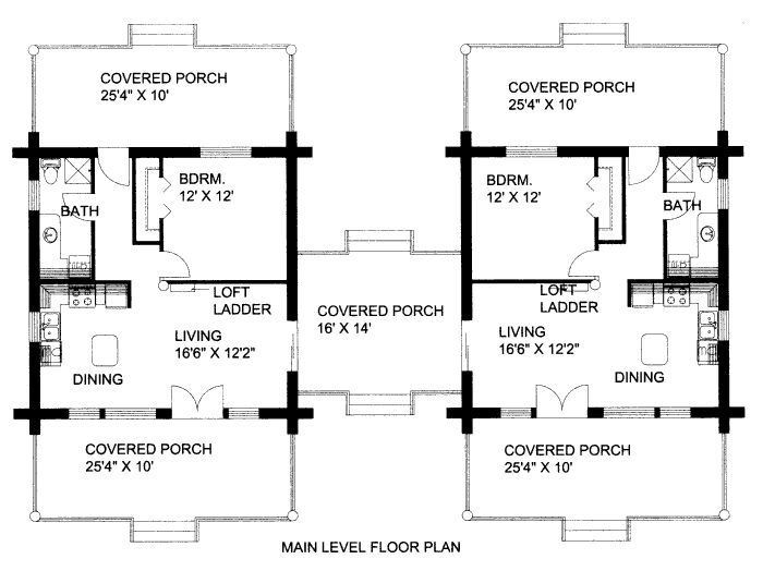 Dogtrot House Floor Plan Google Search