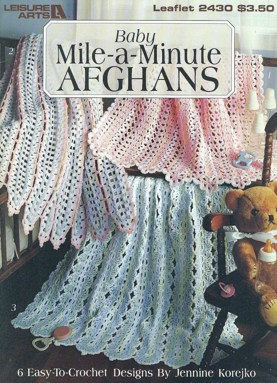 Excelente Artes Ocio Crochet Patrones Afganos Viñeta - Manta de ...