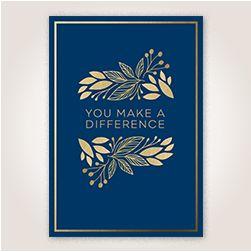 The Difference Employee Appreciation Hallmark Card #employeeappreciationideas