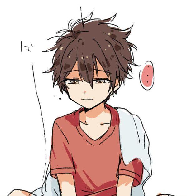 Ownnnn Anime Drawings Boy Anime Child Cute Anime Guys