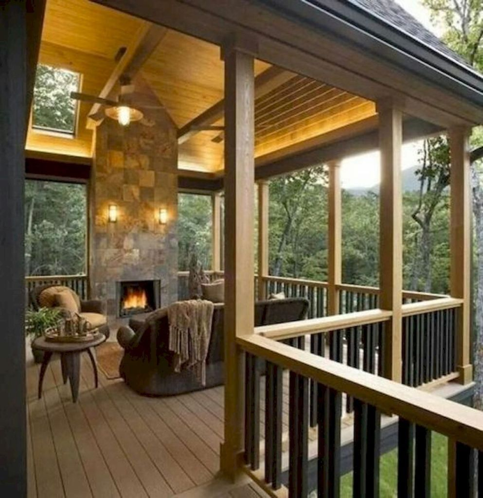 Covered Deck And Pergola Roof Design Ideas 5 Googodecor Deck Fireplace Deck Designs Backyard Pergola