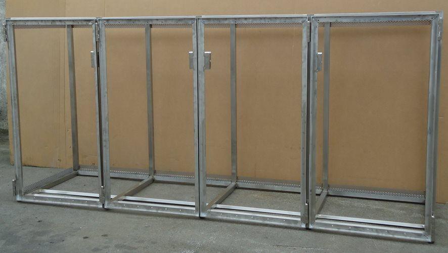 tonnenhaus gestell f r 4 m lltonnen bis 120 liter garten pinterest m lltonne. Black Bedroom Furniture Sets. Home Design Ideas
