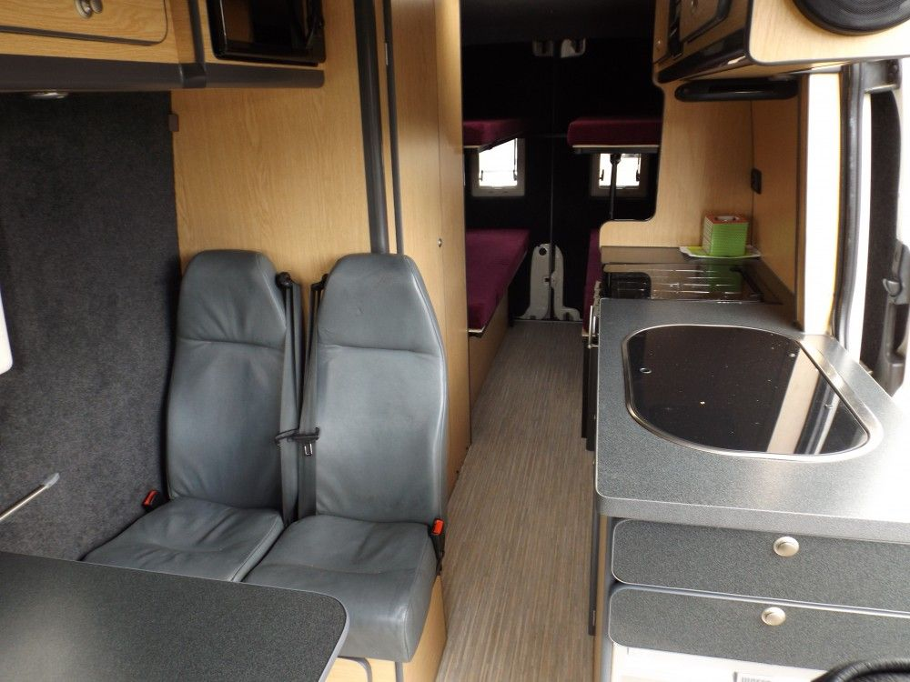 volkswagen crafter cr35 4 berth motorhome mark chambers. Black Bedroom Furniture Sets. Home Design Ideas