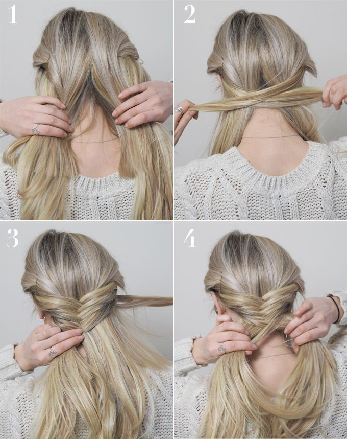 2 Everyday Hairstyles For Long Hair Made Up Style Everyday Hairstyles Hair Styles Mom Hairstyles