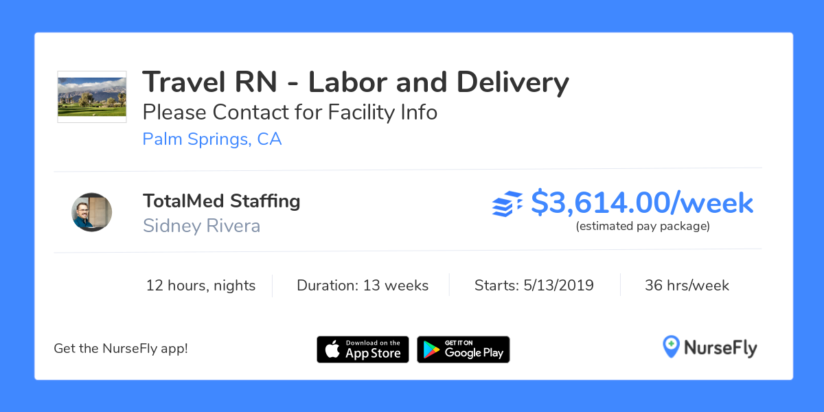 NurseFly Travel Nurse RN Jobs, Labor and Delivery in